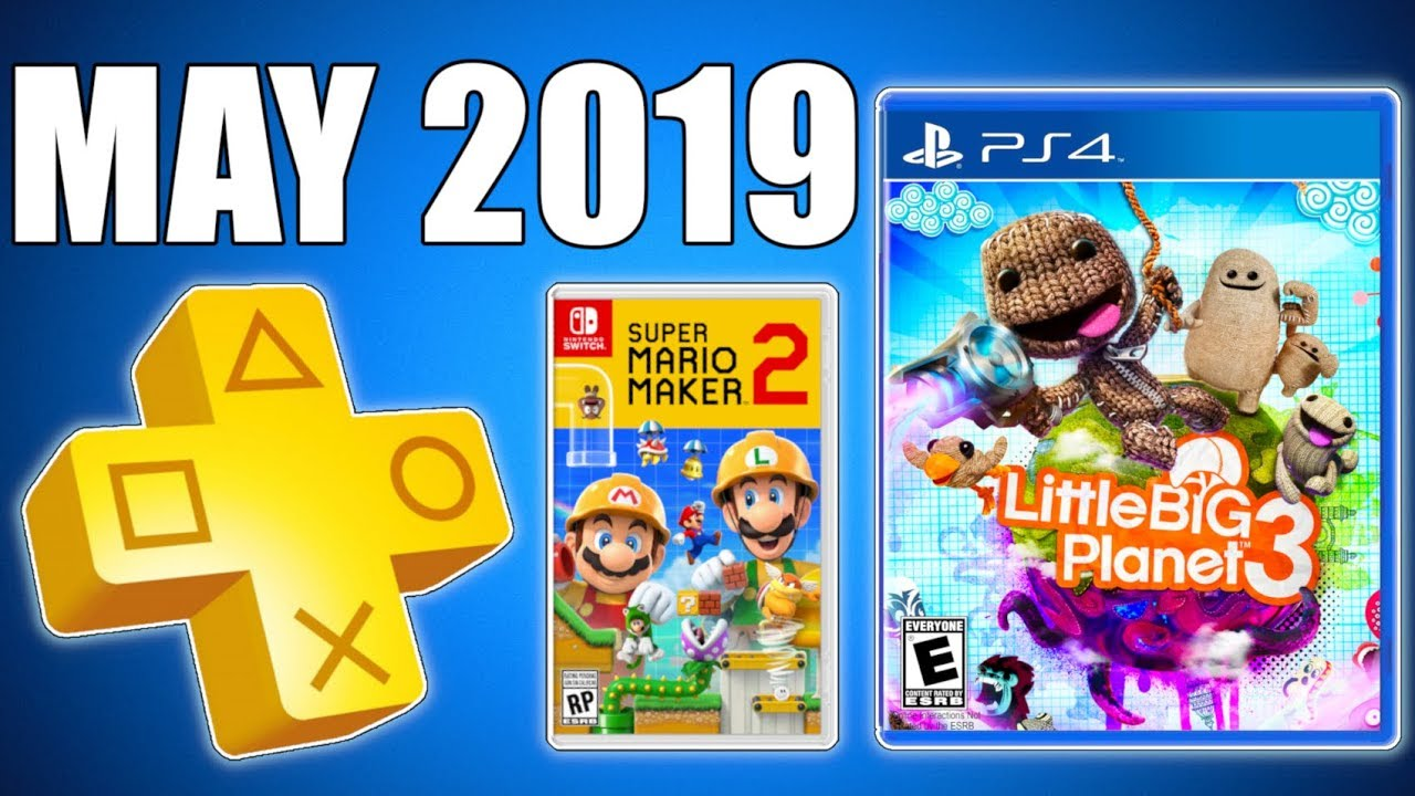 MAY 2019 FREE PS PLUS GAME & Super Mario Maker on PS4 (Free PS4 Game May  2019 Leak)