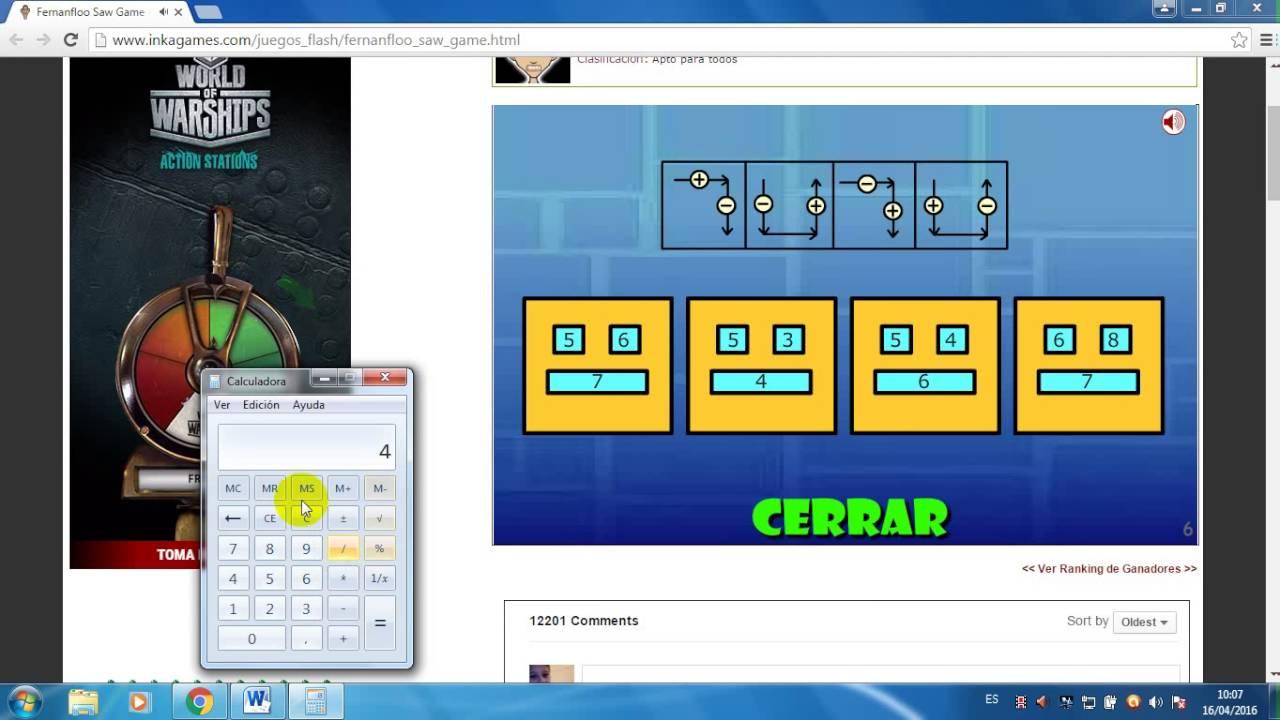 Como Desifrar La Clave Del Chiguagua En Fernanfloo Saw Game Youtube