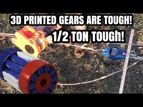 660LB Scale Overloaded By 3DP Gearbox [Tug Of War]...