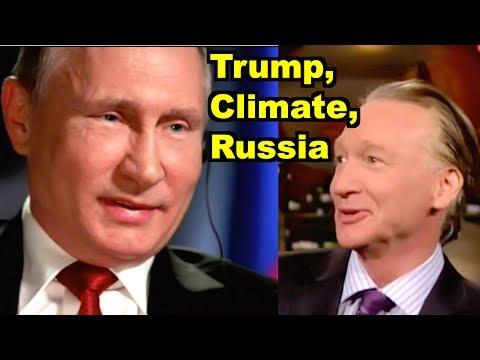 Trump vs Climate & Russia Covfefe - Bill Maher, Vladimir Putin MORE! LV Sunday LIVE Clip Roundup 215
