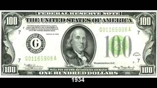 The evolution of the 100 bill