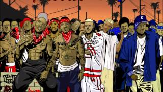 Bloods & Crips Everythings Gonna C Alright Remix Slowed n Chopped