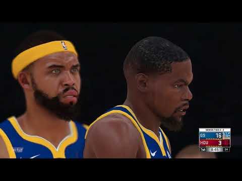 NBA 2K18 Western Conference Finals Golden State Warriors vs Houston Rockets Game 5