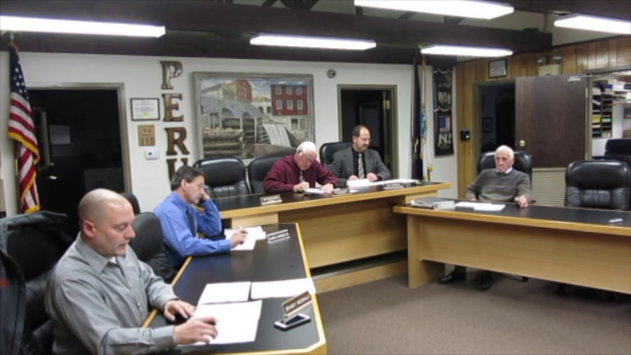 Town of Peru Budget 2018 Approved  11-15-17