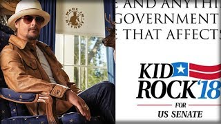 Kid Rock Tweets Out First Campaign Message And Democrats Are Scared