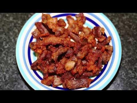 หมูทอดน้ำปลา - สูตรและวิธีทำหมูทอดน้ำปลาที่มีรสชาติใช่เลย - Fried Pork with Fish Sauce