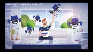 Plus500® | Proud sponsor of the BRUMBIES Rugby team