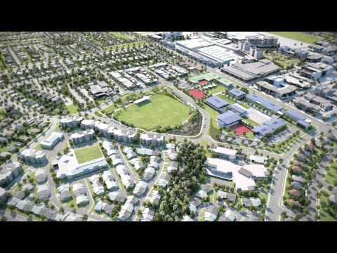Oran Park Town flythrough 1 - Sydneys Newest Town