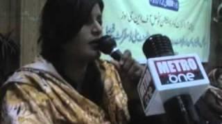 Abida Habeeb's Song About Dengue Mosquito 16 02 12 TMA Hall Fsd Report Dr  Najeeb Cheema