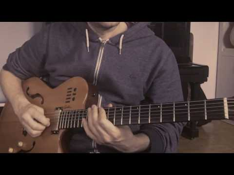 Yesterdays   Wes Montgomery transcription. Part 1.