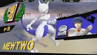 ESV Smash 4 Weekly #5 - Dantu (Mewtwo) vs TravishVII (Marth, MK) - Loser's Semis