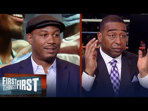 Lennox Lewis previews the Charlo twins upcoming fights on FOX & more  | BOXING | FIRST THINGS FIRST