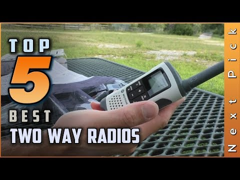Top 5 Best Two Way Radios Review In 2020