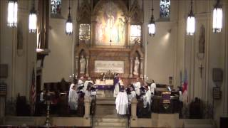 """Turn Thy face from my sins"" (A. Sullivan) @ St. John"