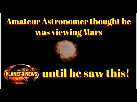 Amateur Astronomy in Southern Argentina Thought He Was Viewing Mars but he caught this