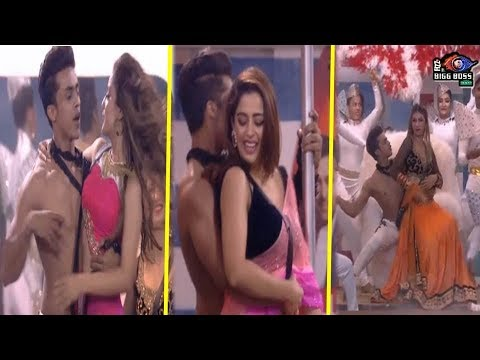 Bigg Boss 12 : Neha Pendse, Jasleen Matharu & Srishty Rode Romantic Dance With Kishen Bilagali thumbnail