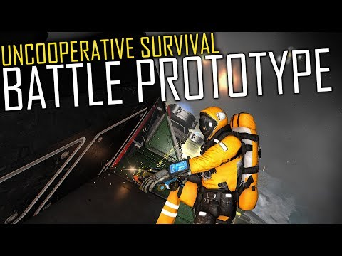 Space Engineers: Prototyping for the Drone War - Uncooperative Survival
