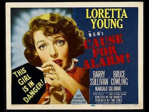Cause For Alarm (1951) Film Noir