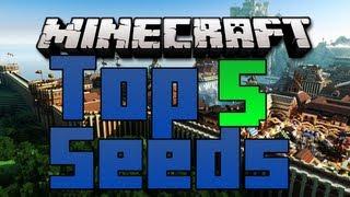 Minecraft: Top 5 Seeds EVER