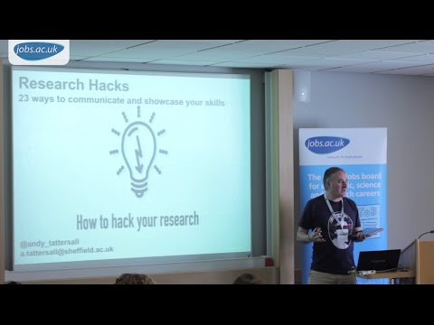 Research Hacks: How to Hack Your Research