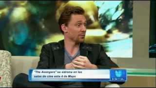 Tom Hiddleston speaking spanish