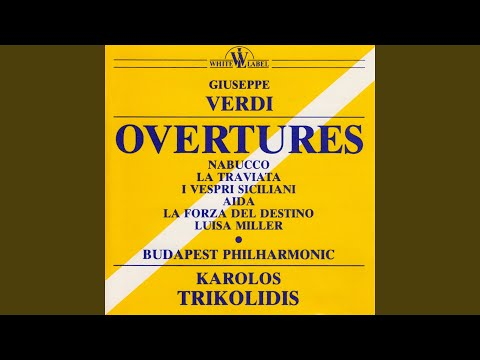 I vespri siciliani: Sinfonia