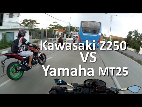 Z250 VS MT25 SERU ABISS ! ! ! | Semarang Motovlog