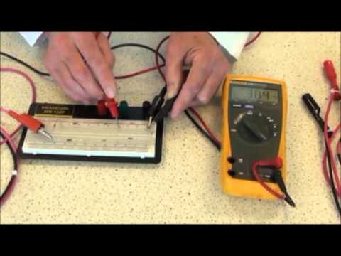 How to measure Voltage, Resistance and Current with a Digital Multi-Meter