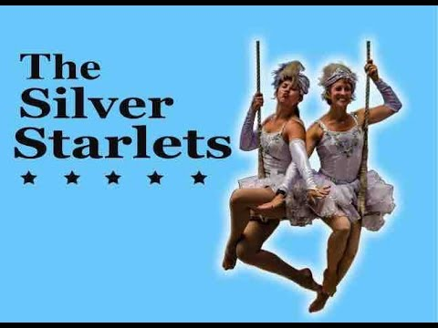 The Silver Starlets - The family friendly aerial show that shines bright!