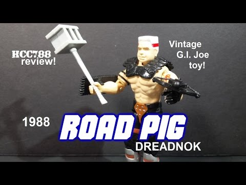 HCC788 - 1988 ROAD PIG - Dreadnok - Vintage G.I. Joe toy!
