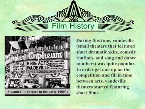 Brief History of Early Cinema
