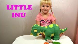 Динозавр Little Inu(Обзор Динозавр Little Inu. Любимчик всех детей, веселый динозаврик Little Inu (маленький Ин). Он умеет двигаться и..., 2015-11-16T08:28:31.000Z)