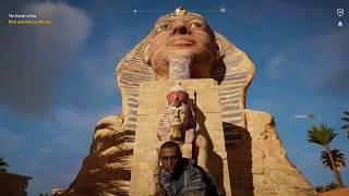 Assassin's Creed Origins: Great Sphinx Hidden Entrance