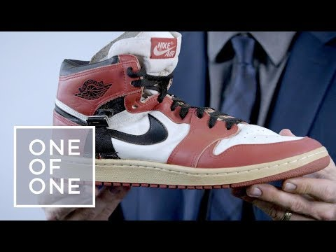 The Rare Air Jordans Made for an Injured Michael Jordan I One of One