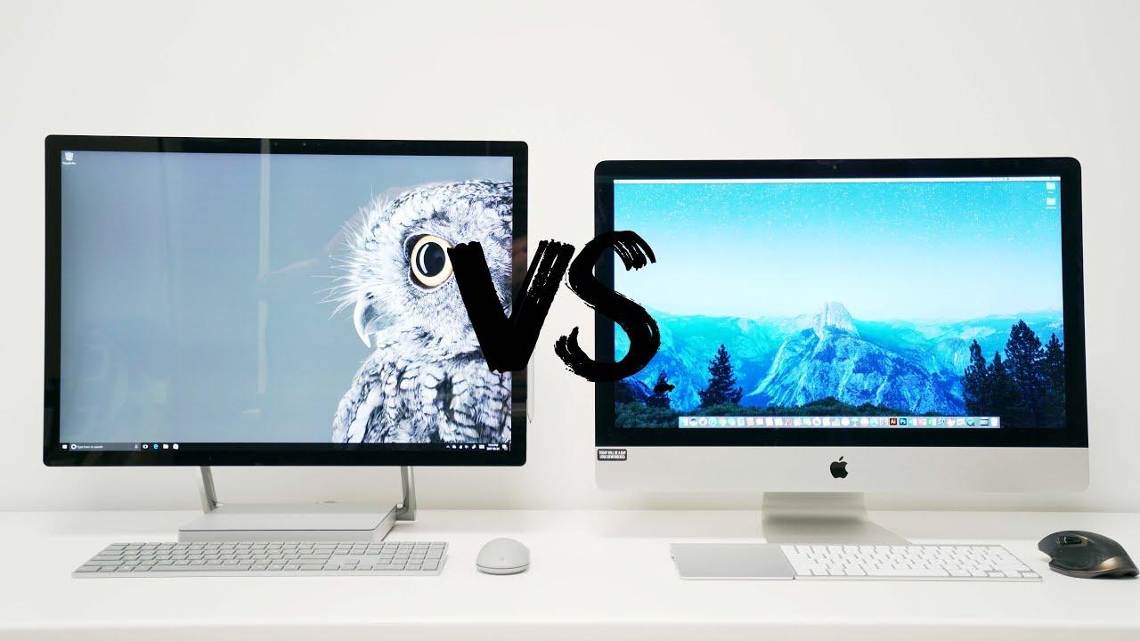 Surface studio vs imac new - Surface Studio Vs 5k Imac Battle Of The All In Ones