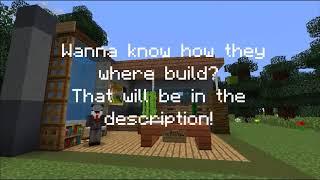 7 HOUSE DECOR DESIGNS! - Minecraft