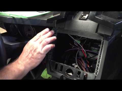 Double din marine cover polaris slingshot by underground
