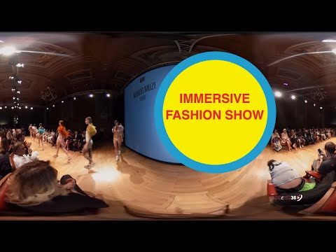 NANDO MUZI | FASHION SHOW | 360 VR | Exclusive