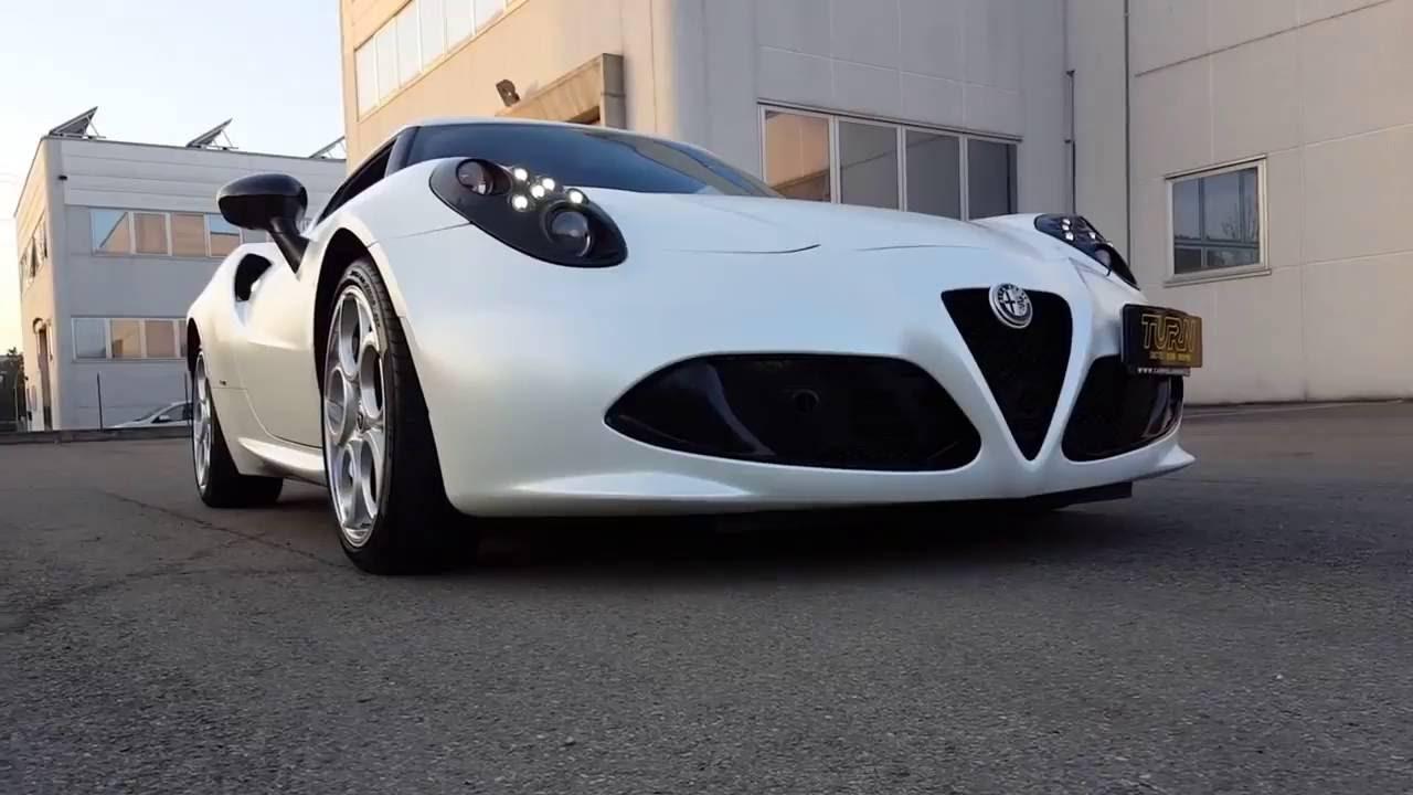 Alfa Romeo  C Special Edition White Pearl Satin Wrapping