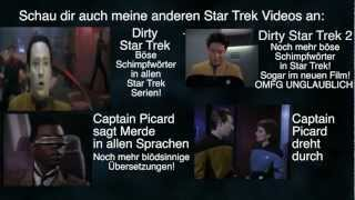 Star Trek TNG Translation FAIL English German Übersetzung FAIL