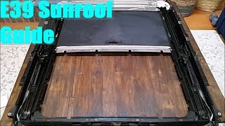 homepage tile video photo for E39 BMW Sunroof Guide (Part 2 of 3)