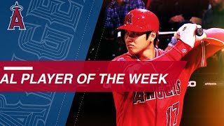 Shohei Ohtani named AL Player of the Week