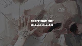 see through--billie eilish lyrics