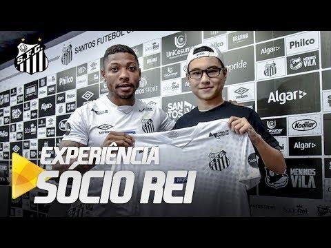 SÓCIO REI CONHECE MARINHO E PARTICIPA DA COLETIVA!