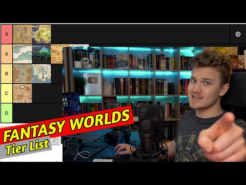 FANTASY WORLDS 🪐 - TIER LIST