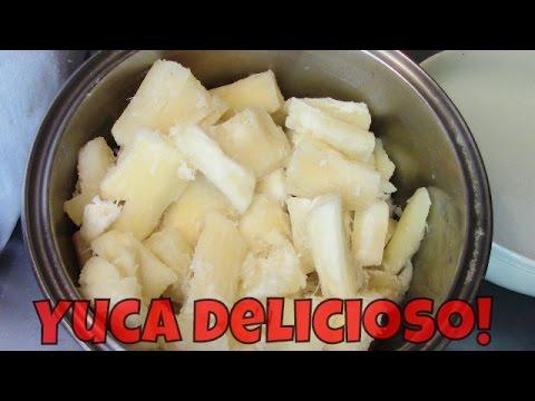 Como cocinar yuca receta facil
