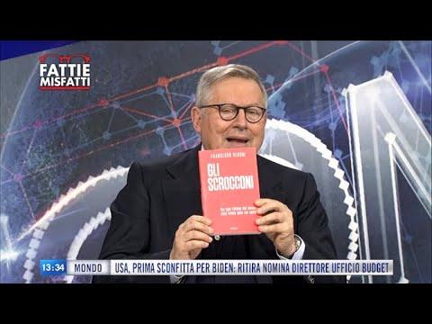 """Fatti e Misfatti: Francesco Vecchi presenta il suo libro """"Gli Scrocconi"""" -  YouTube"""