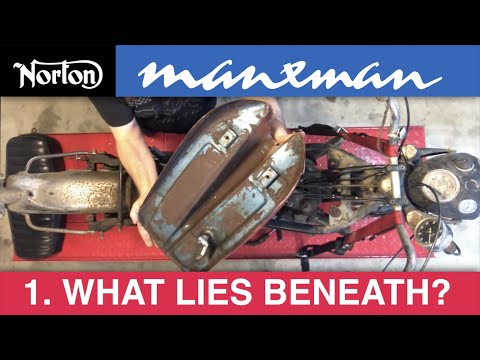 1961 Norton Manxman project (1) - what lies beneath?