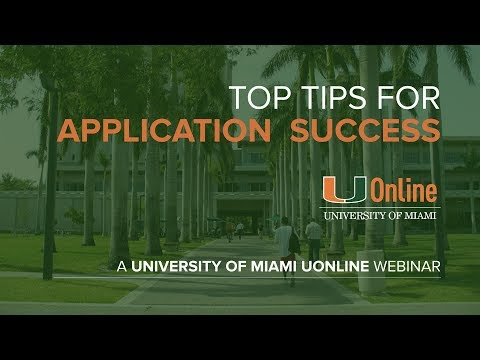 Top tips for application success - international applicants