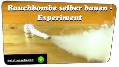 Einfachste RAUCHBOMBE selber bauen (extrem starke Rauchentwicklung) - Experiment   Anleitung